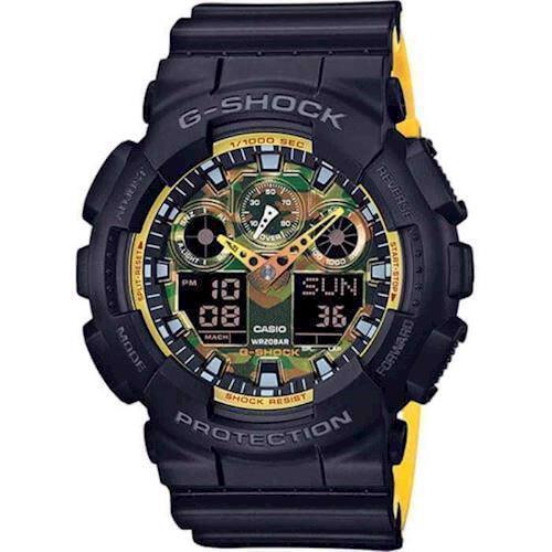 Model GA-100BY-1AER Casio G-Shock quartz multifunktion Herre ur