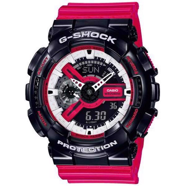 buy online ba6a1 d1267 Model GA-110RB-1AER Casio G-Shock (5146) multifunktions quartz Herre /  Stort Dame ur