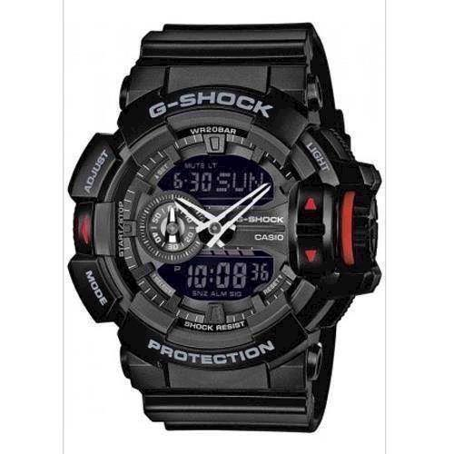 Model GA-400-1BER Casio G-Shock quartz multifunktion (5398) Herre ur