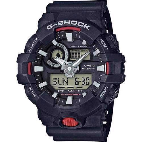 Model GA-700-1AER Casio G-Shock quartz multifunktion (5522) Herre ur