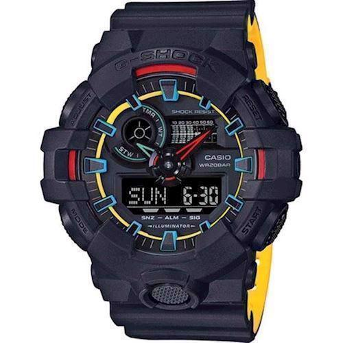 Model GA-700SE-1A9ER Casio G-Shock quartz multifunktion Herre ur
