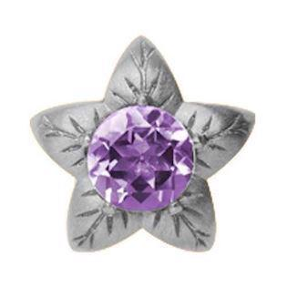 Christina Watches Blomst med Amethyst charm