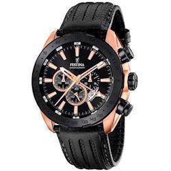 Model F16900/1 Festina Analog Mineral Dual-Time ur