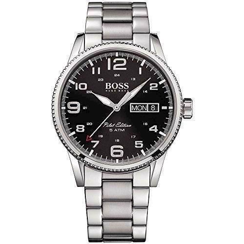 Model 1513327 Hugo Boss Pilot Quartz herre ur