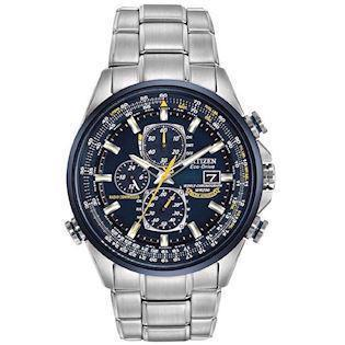 Model AT8020-54L Citizen Promaster Sky Blue Angels Eco drive radio controlled quartz Herre ur