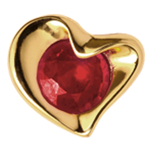 Christina Watches Ruby Heart charm