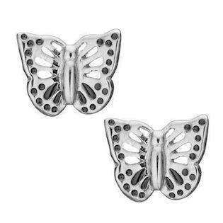 Model 671-S26, Butterflies små sommmerfugle fra Christina Collect i 925 sterling sølv