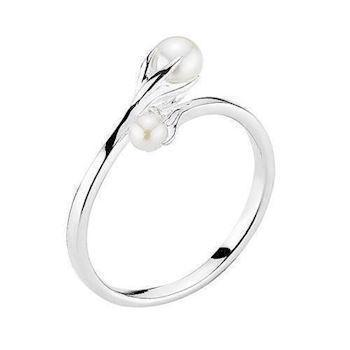 Model 907679-20, fingerring blank fra Lund i 925 sterling sølv